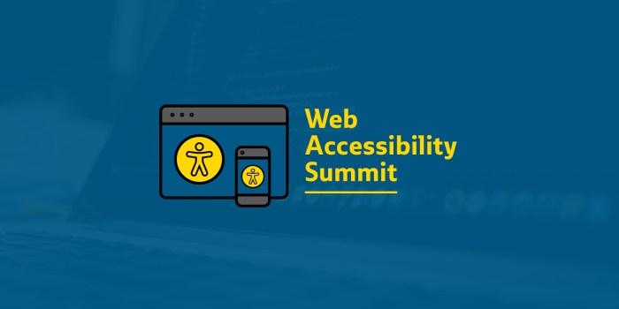 Recap: Web Accessibility Summit