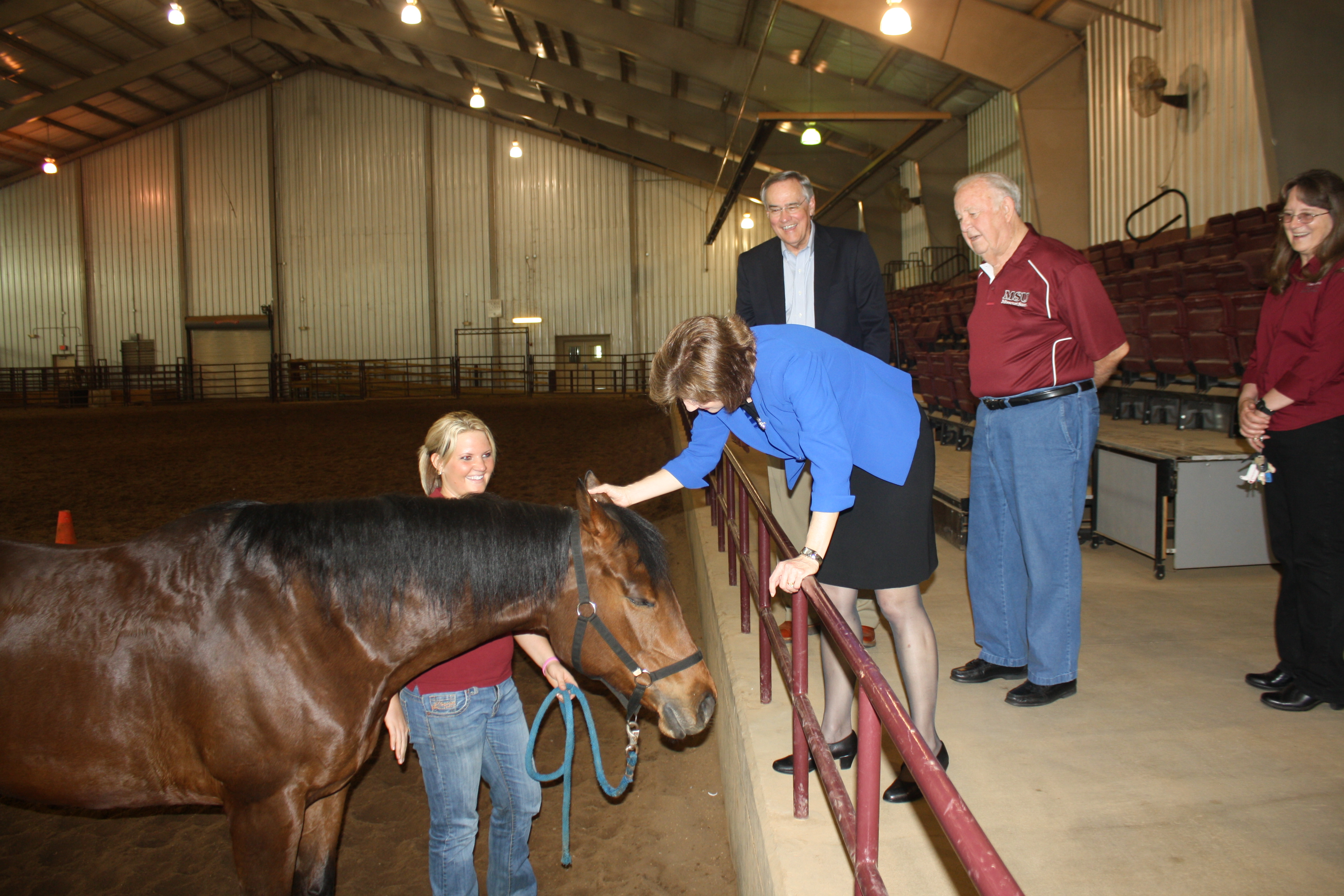 Congresswoman Vickie Hartzler's Visit to the Darr Agricultural Center