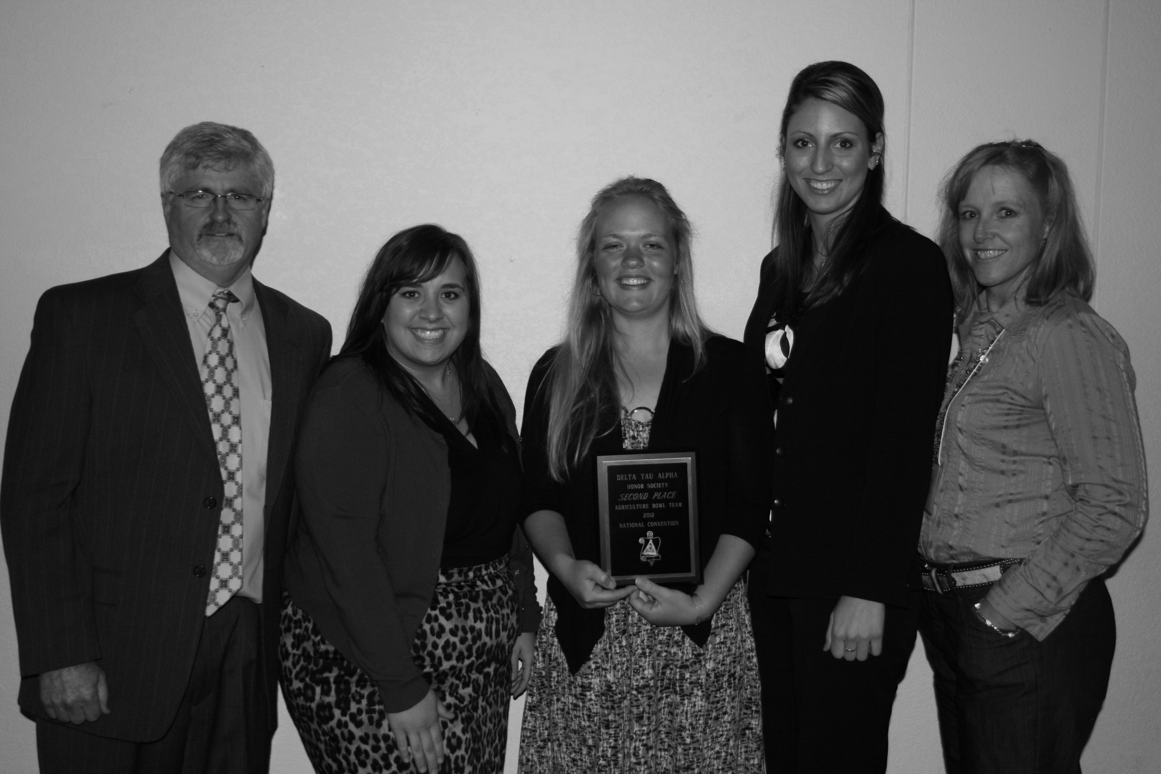 School of Agriculture Honor Society places 2nd in National Quiz Bowl; Elected as National President.