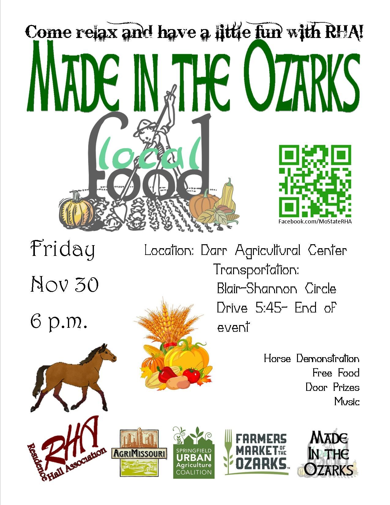RHA to host Made in the Ozarks at Darr Agricultural Center