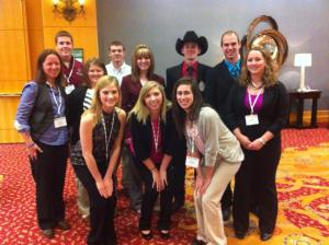 Collegiate Farm Bureau Attends Young Farmers and Ranchers Conference in Phoenix