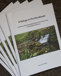 book, The Woodlands, ag, history, research, Springfield, Great Depression, transient camp