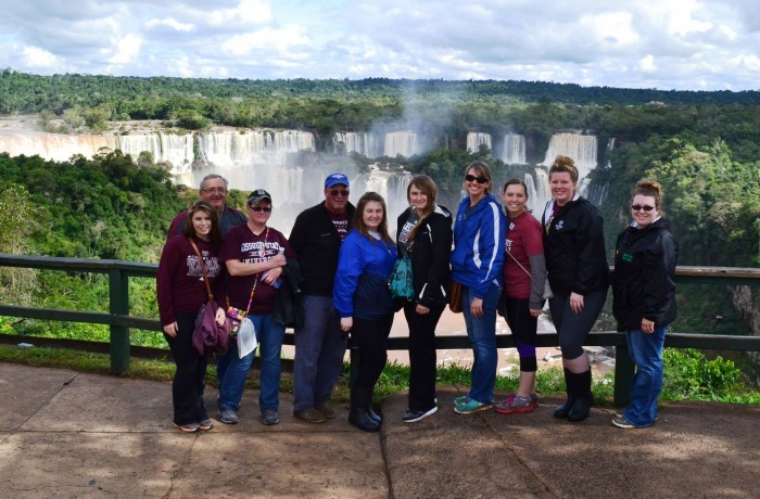 Brazil, study away, Missouri State, agriculture, Iguazu falls, natural wonder, culture, public affairs