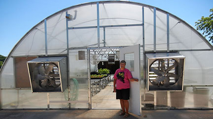 Greenhouse and High Tunnel Workshop Aug 3 -4, 2016 at Mountain Grove