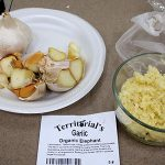Elephant garlic has the mildest taste of the three in the trial.