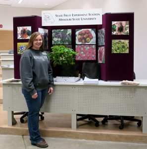 Jennifer Morganthaler and I gave an update on the raspberry research project at Mountain Grove.