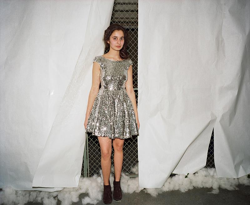 Melissa Ann Pinney: Girl in a Silver Dress