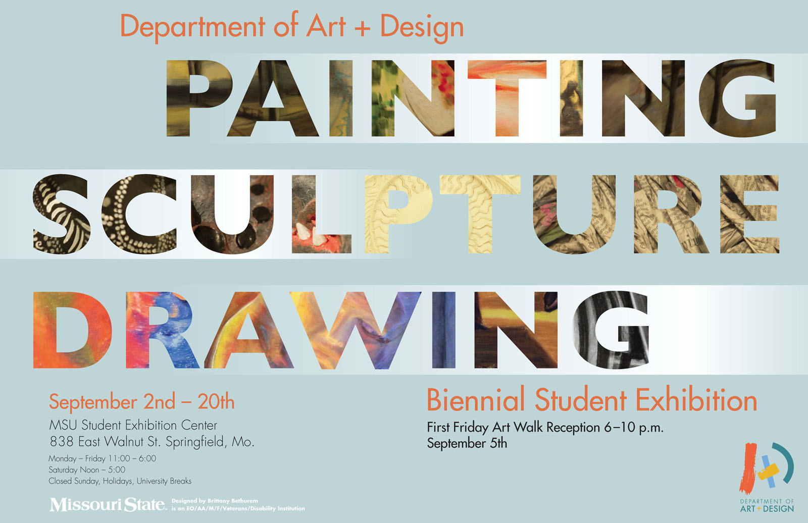 Sculpture, Drawing, and Painting Students' Biennial Exhibition