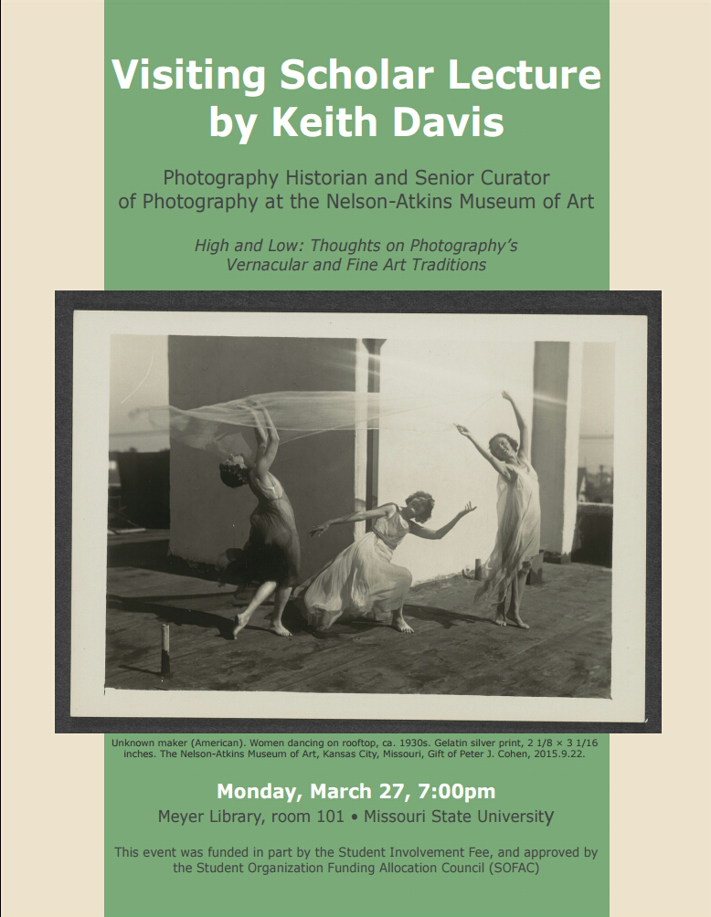 Visiting Scholar Lecture by Keith Davis