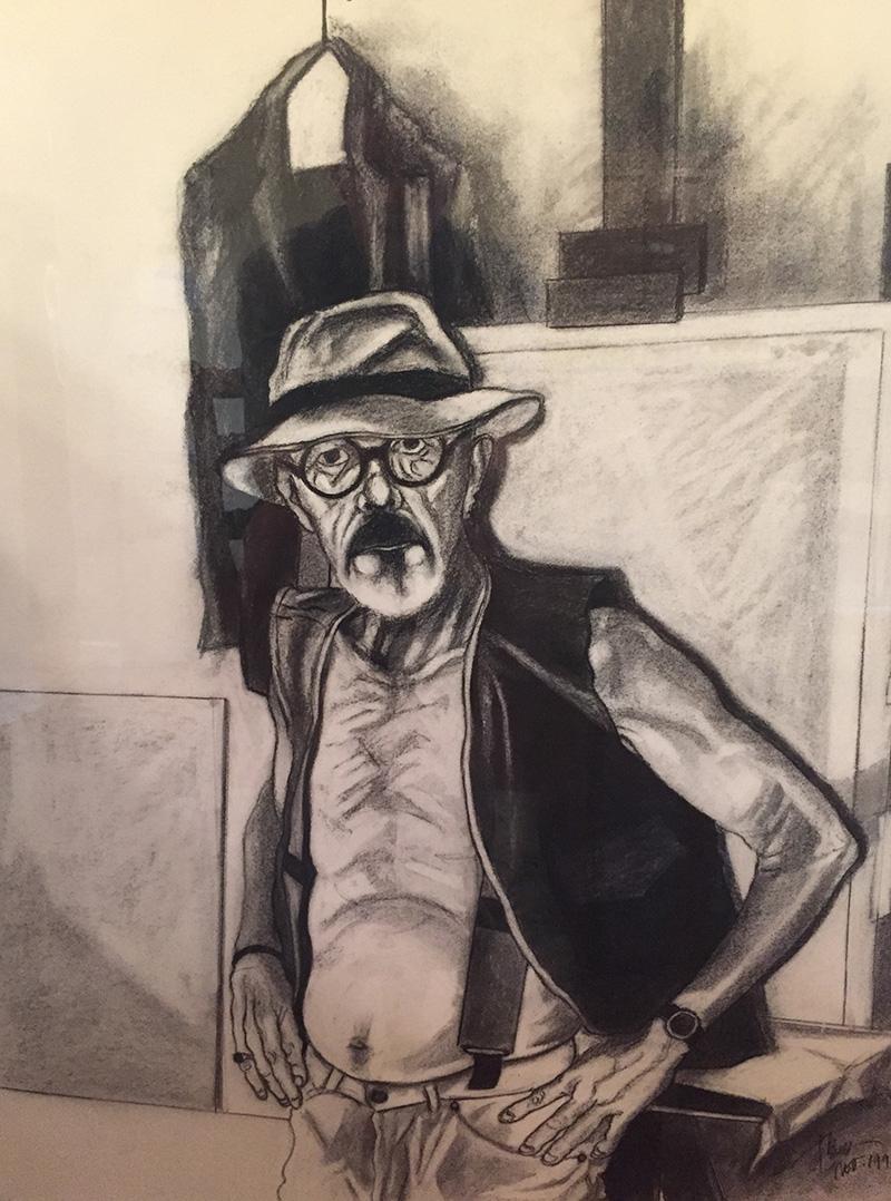 Untitled self-portrait by Rodney Frew (1997)