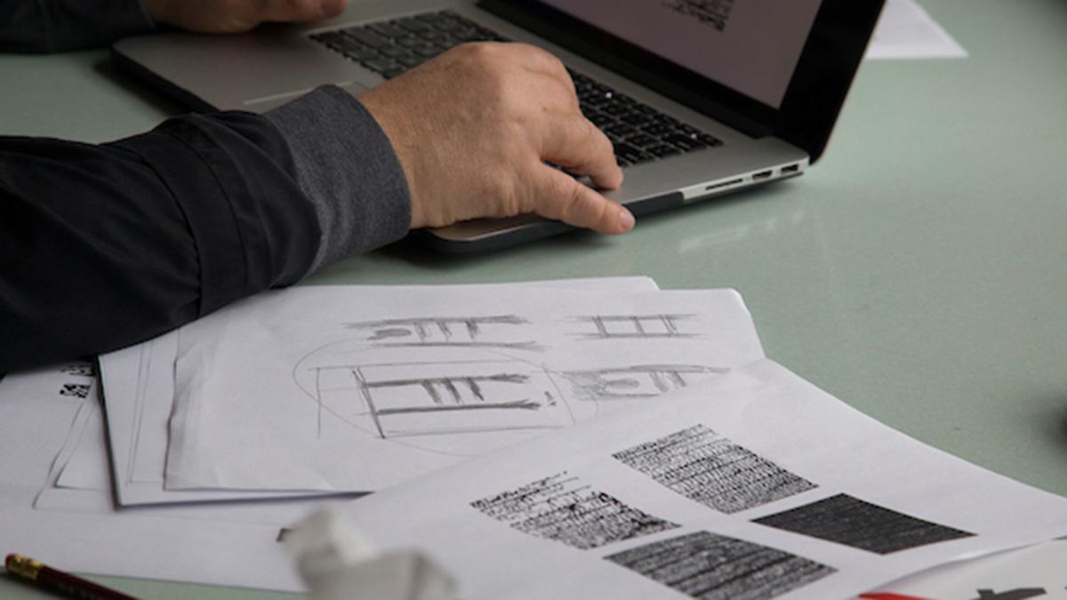 """Sketches of Kostovic's idea for """"Sarajevo 100"""""""
