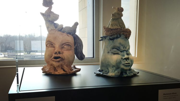 Taylor Gallery showcases 3D Studies work from Art + Design students