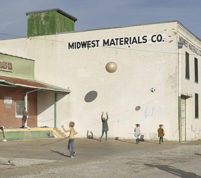 "Julie Blackmon, ""Midwest Materials"", photograph 2018"