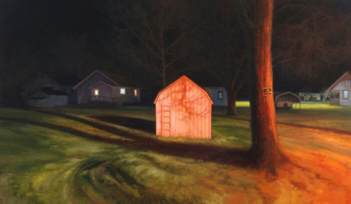 """Photo of Painting """"Claremont Avenue"""" by Sarah Williams"""
