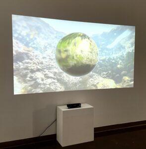 "The interactive piece, ""Tidal Wanderngs"" by Reza Safavi"
