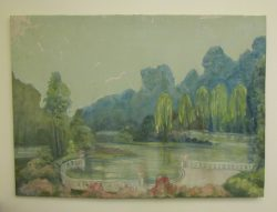 Oil Painting Series by Howard Garrison Research and Conserved by Jessica Brenneke