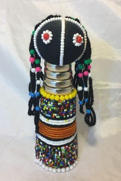 Image of Beaded Figurine of a Girl