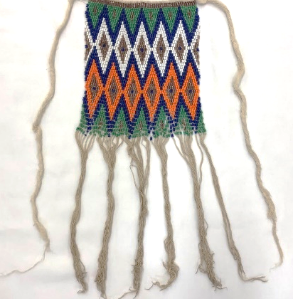 Image of Beaded Cache-Sexe Apron