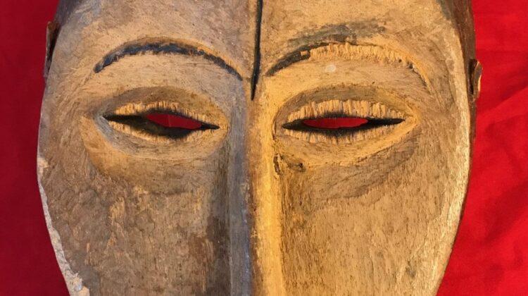Image of Lukwakongo, Idimu Mask with Scarification Line