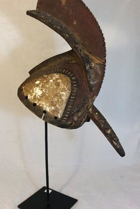 Image of Long-Beaked Rooster Helmet Mask