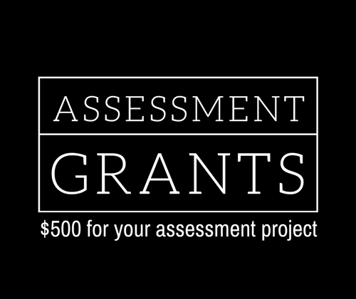Assessment Grant Logo--$500 for your assessment project