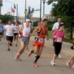 Runners at race