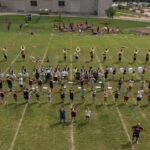 Pride Band practice