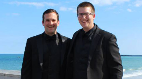 Blake Richter and Dr. Cameron LaBarr
