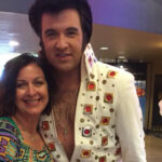 Professor Jerri Lynn Kyle and Elvis