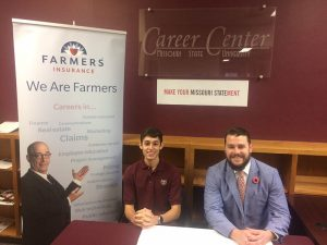 Farmers intern and recruiter