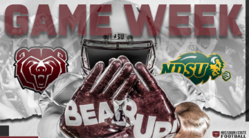 Bears conclude home slate Saturday against Top-Ranked Bison