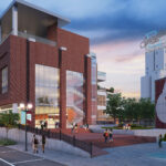 Rendering of plans for IDEA Commons