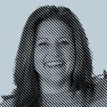Christina Cook, first-ever recipient,2002 alumna