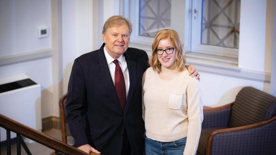 Gordon Kinne and Shannon Wick