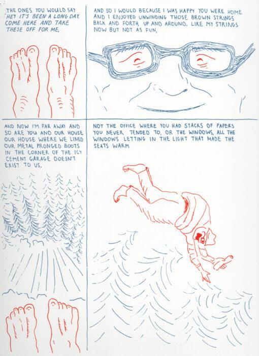 Comic by Haley Branson.