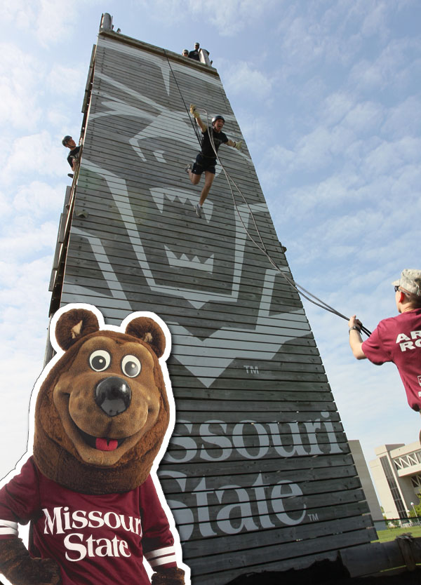 Tradition of the Month – Rappel Off the ROTC Tower