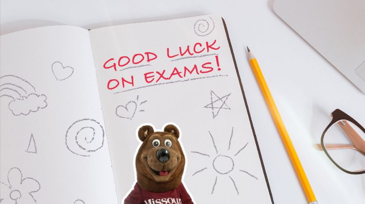 "Send Your Student a ""Good Luck on Exams"" E-Card"