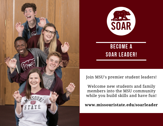 Encourage your student to become a SOAR leader!