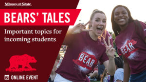 Bears' Tales for our new students