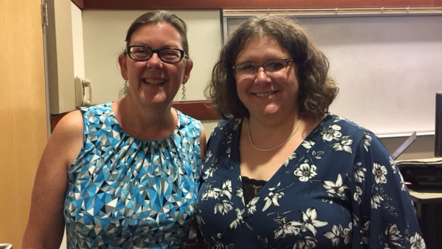 Drs. Mary Krause and Tammy Jahnke