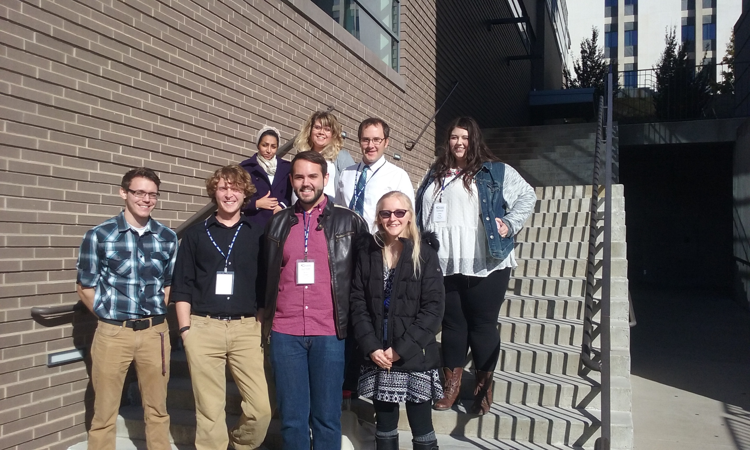 Biology group photo