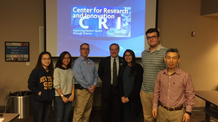 Students tour research facilities