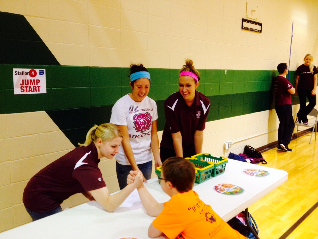 Dietetics Students and Special Olympics