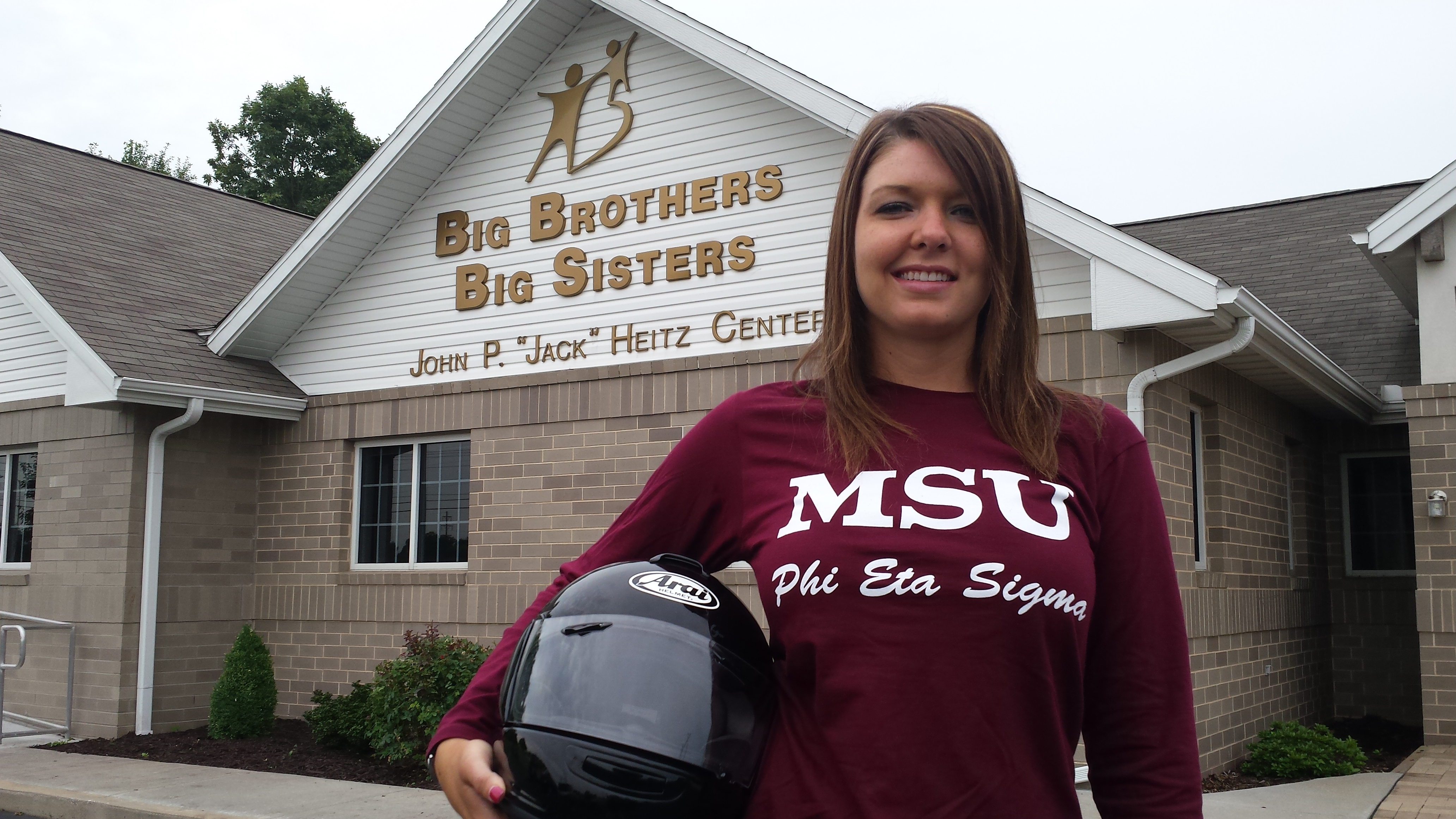 CMB Student Honored for Academics and Volunteer Work