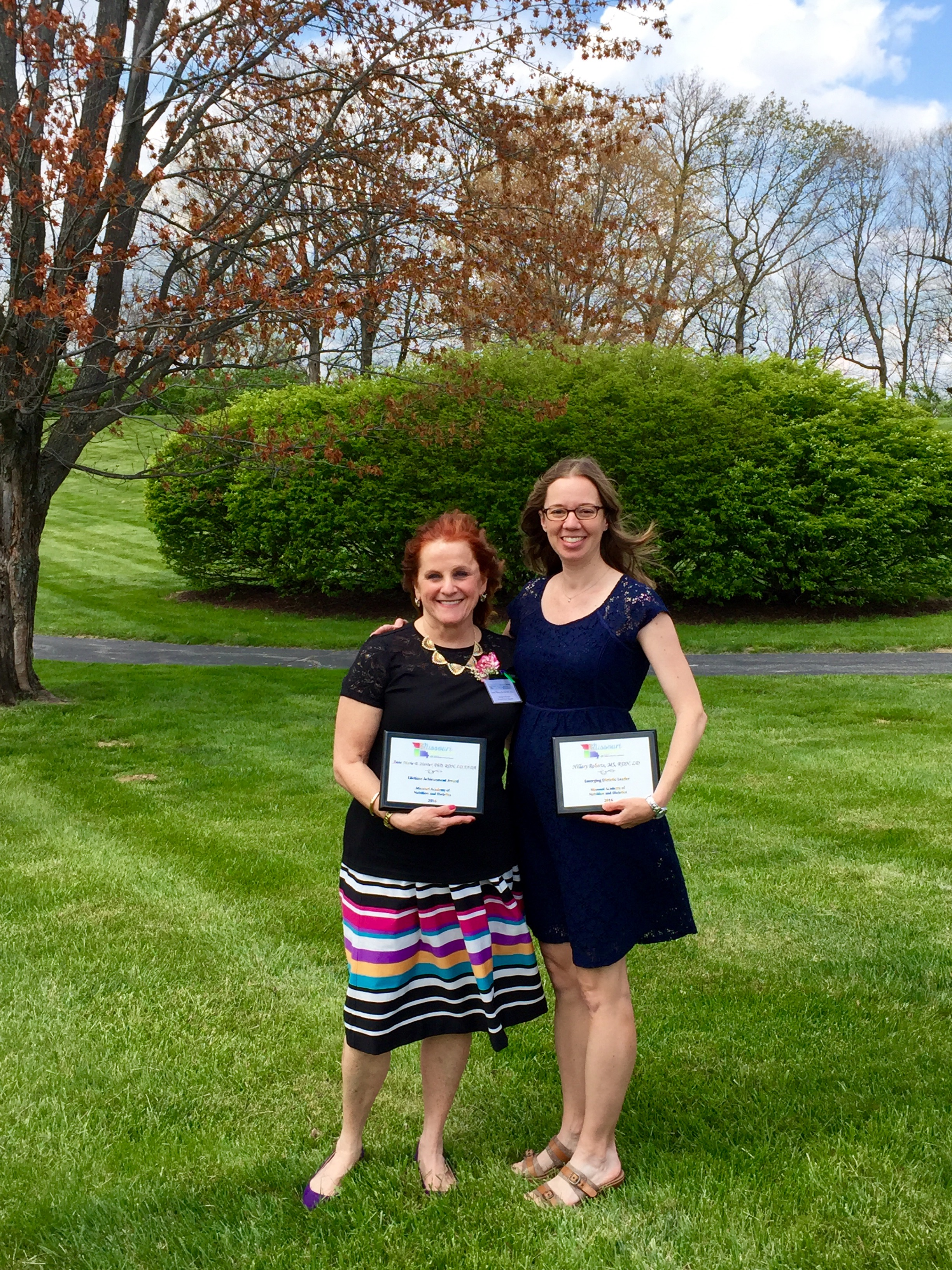 Dietetics Faculty Honored