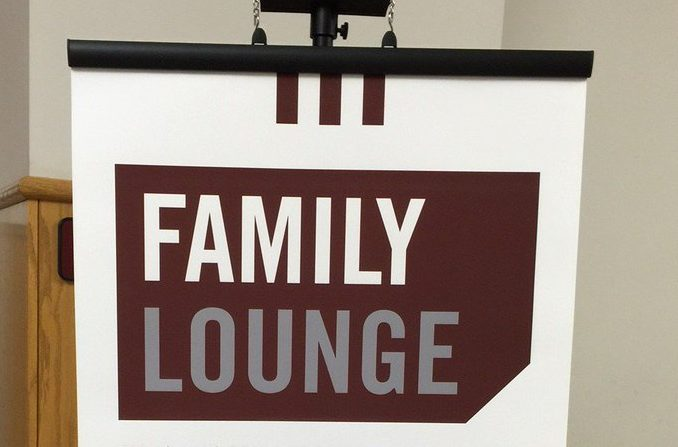 Inspiration: The Missouri State Family Association's welcome banner