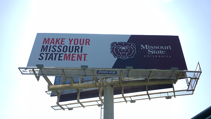 Make your Missouri Statement billboard
