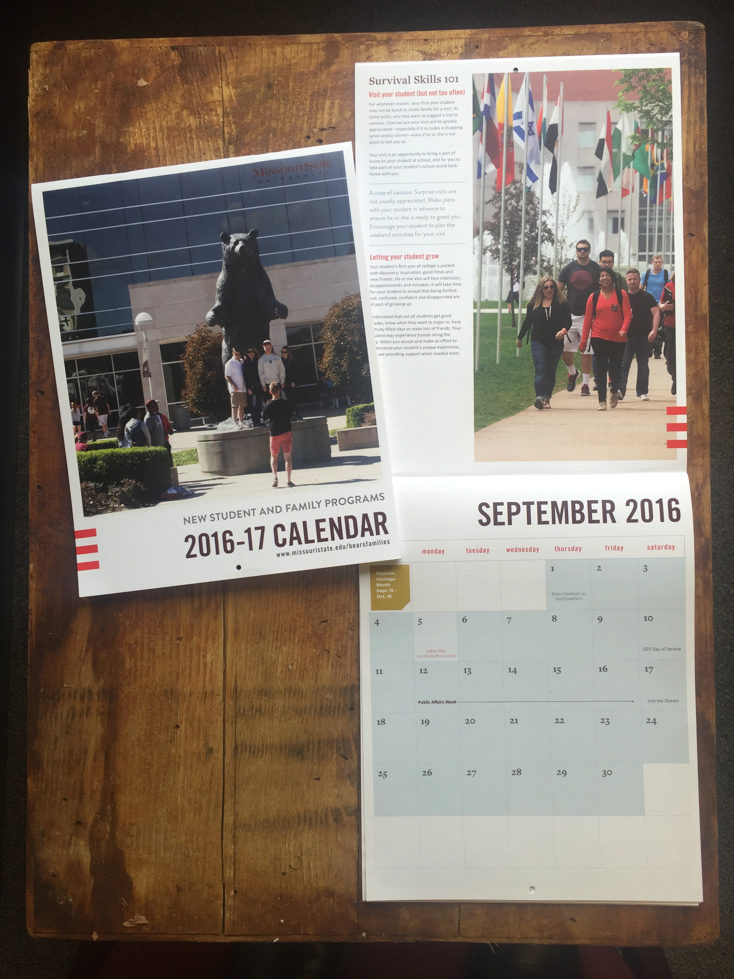 Calendar highlights candid moments and documentary-style images