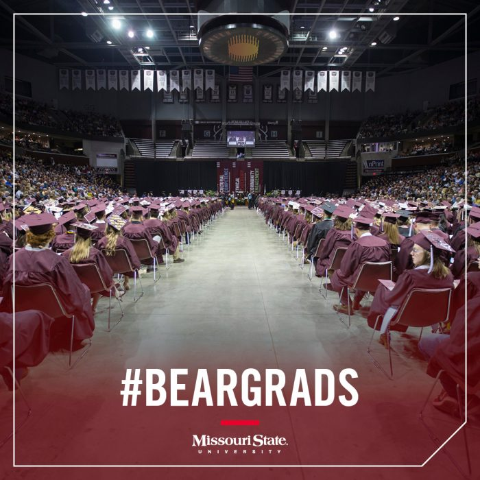 Instagram image: Hundreds of graduates at JQH Arena