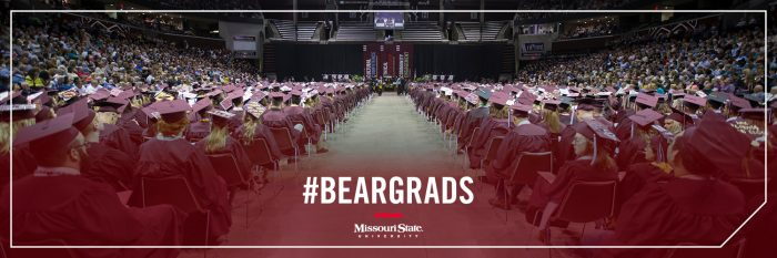 Twitter header: Hundreds of graduates at JQH Arena